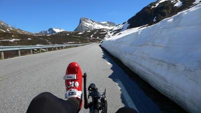 lekker klimmen in Noorwegen